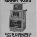 Bally Model 742-A Money Honey Slot Machine Manual