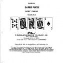 C.E.I. Casino Poker Version 26.6 for 1985 model Video Poker 911 model types