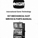 I.G.T. M-Slot Mechanical Slot Machine Service & Parts Manual