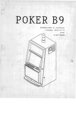 Sigma Slot Machine Manual