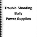 Bally Power Supplies manual