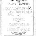 Evans, H.C. Evans & Company slot machine manual