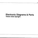 I.G.T. Vision Slot Upright, Electronic Diagrams & Parts Manual
