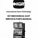 I.G.T. M-Slot Mechanical Slot Machine Service & Parts Manual