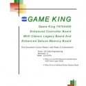 I.G.T. Game King, Key Chip Manual