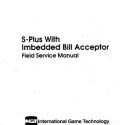 I.G.T. S-Plus Field Service manual