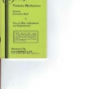 Jennings Victoria Slot Machine Mechanism Manual