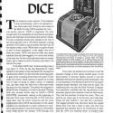 Mills Mechanical Dice Slot Machine Manual