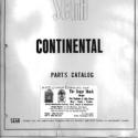 Sega Continental Parts Catalog