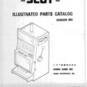 Sigma I-M Cabinet Slot Illustrated Parts Catalog B-32
