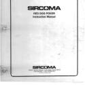 SIRCOMA Red Dog Video Poker Instruction Manual