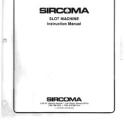 SIRCOMA Video Slot Machine Instruction Manual