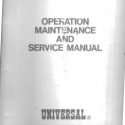 Universal Slot Machine Operation Maintenance & Service Manua