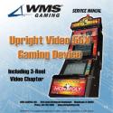 Williams Upright Video Model 55X or 550 slot machine Service Manual